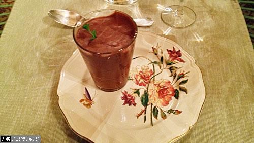 シャトーホテルディナーメインチョコムース