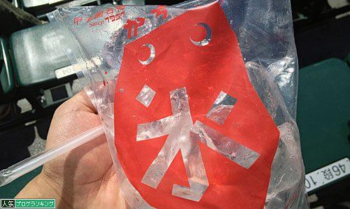 甲子園名物かちわり氷