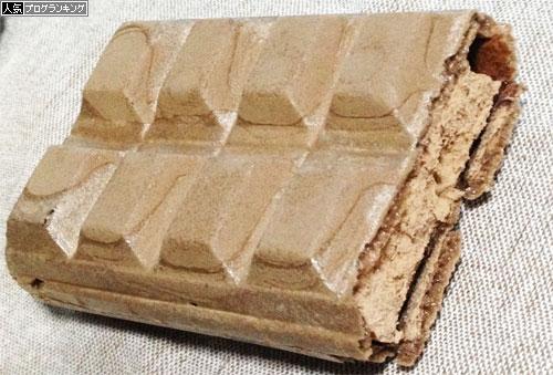 生チョコモナカアイス