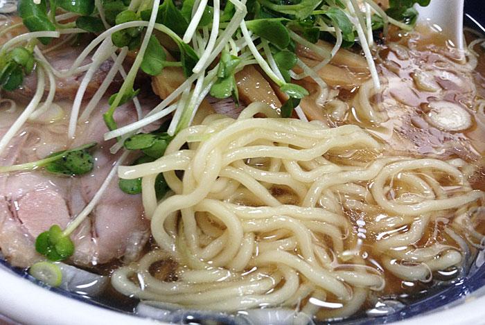 海空土 醤油スペシャル麺
