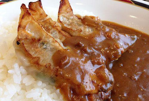 カレー+餃子2