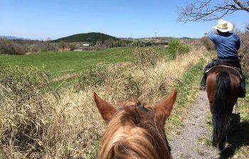 エルランチョグランデ 馬上からの景色