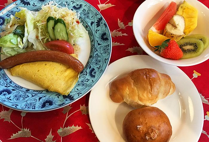 ストーンハウス キャメリオ 朝食