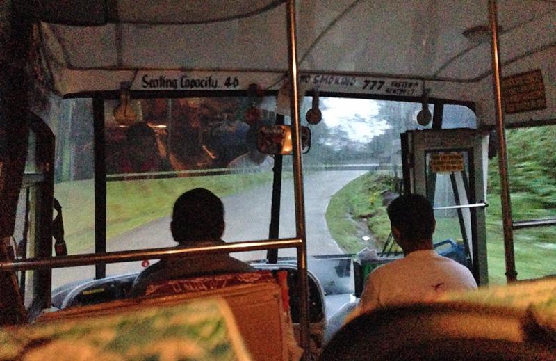 バギオからバナウェのバス
