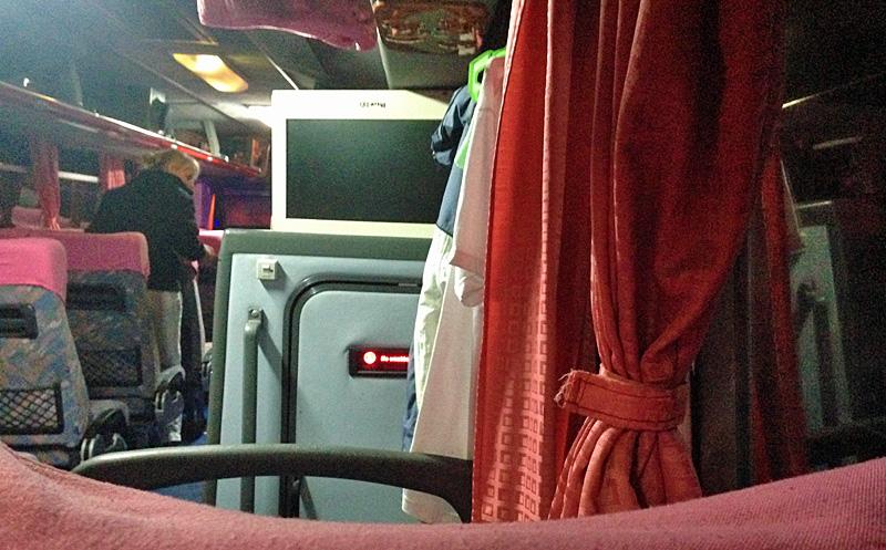 マニラ行きバス