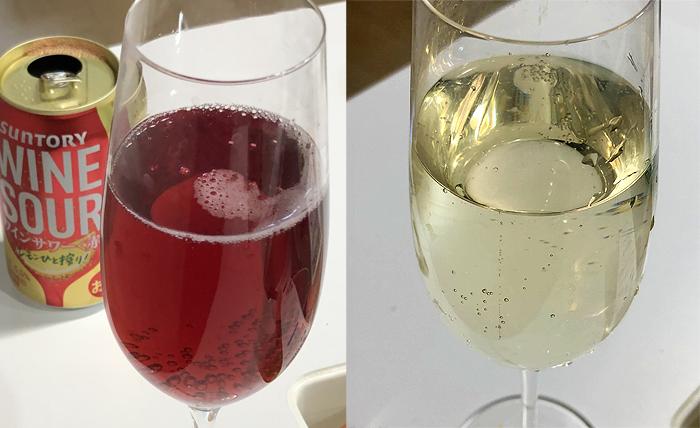ワインサワー 色