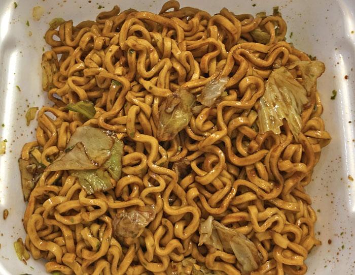 上州太田焼そば カップ麺 中身1
